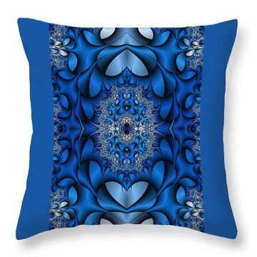 Phone Case A Throw Pillow by Lea Wiggins