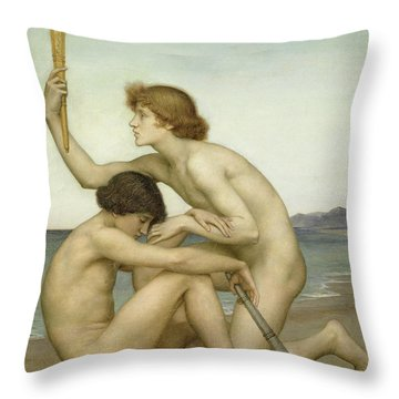 Phosphorus And Hesperus Throw Pillow