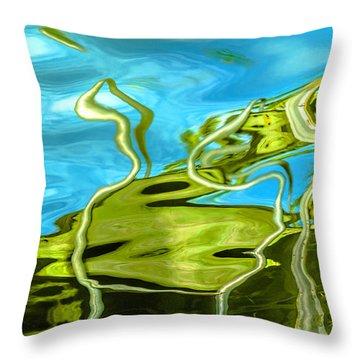 Photo Painting 3 Throw Pillow