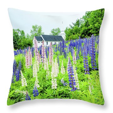 Photographers Dream Or Allergy Nightmare Throw Pillow by Greg Fortier