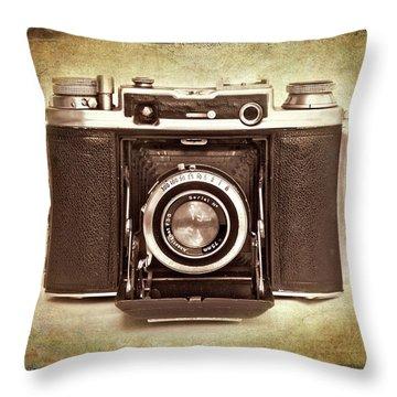 Photographer's Nostalgia Throw Pillow