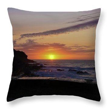 Photographer's Sunset Throw Pillow