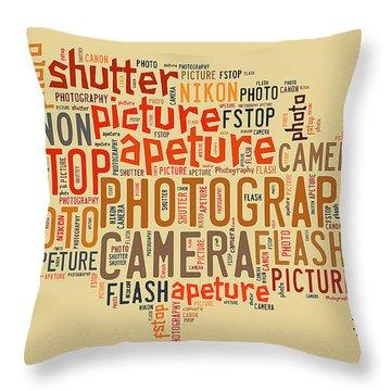 Photography Throw Pillow by Allen Beilschmidt