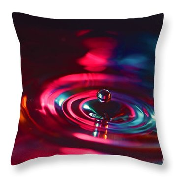 Physics Of Water 4 Throw Pillow