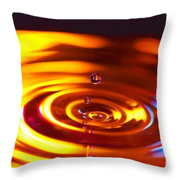 Physics Of Water 5 Throw Pillow