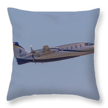 Piaggio P-180 Throw Pillow