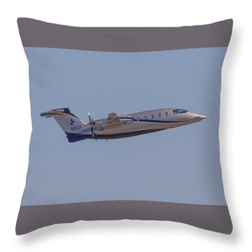 Piaggio P-180 Throw Pillow