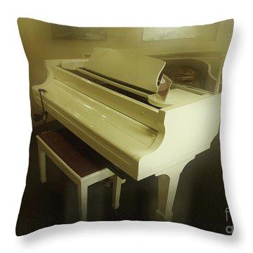 Piano Dream Throw Pillow