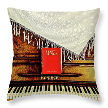 Piano Emily Carr's House Throw Pillow