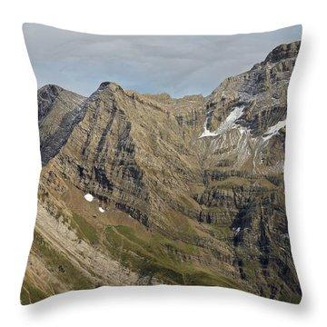 Pic De Marbore Throw Pillow