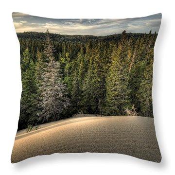 Pic Dunes   Throw Pillow