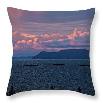 Pic Island Throw Pillow