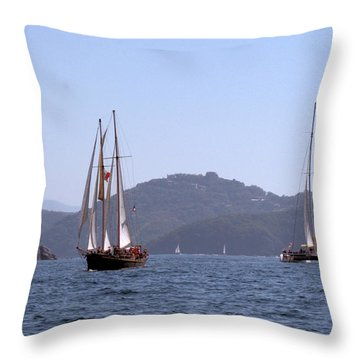 Picante And Patricia Belle Throw Pillow