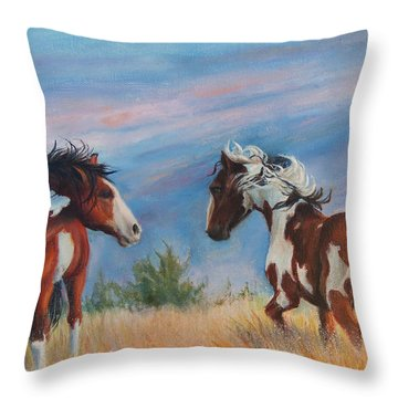 Picasso Challenge Throw Pillow