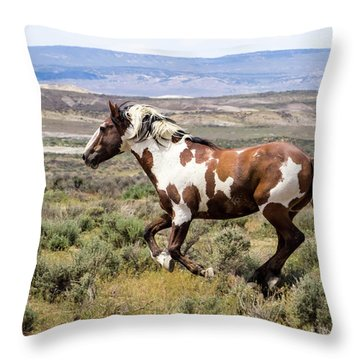 Picasso - Free As The Wind Throw Pillow