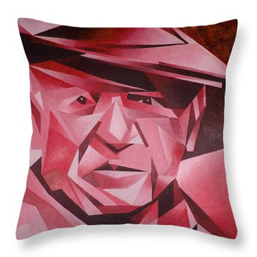 Picasso Portrait The Rose Period Throw Pillow