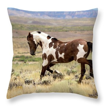 Picasso Strutting His Stuff Throw Pillow