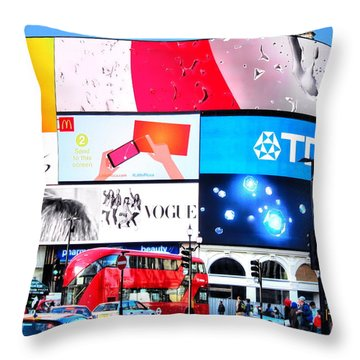 Piccadilly Magic Throw Pillow