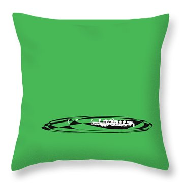 Throw Pillow featuring the digital art Piccolo In Green by Jazz DaBri