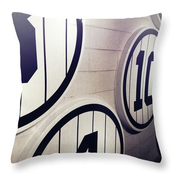 Pick A Number Throw Pillow
