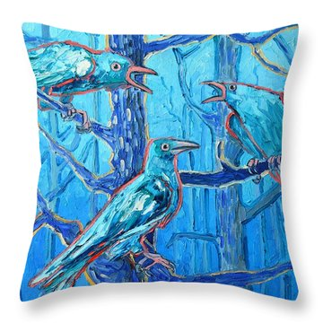 Pick Me ..... They're Crazy Throw Pillow by Ana Maria Edulescu