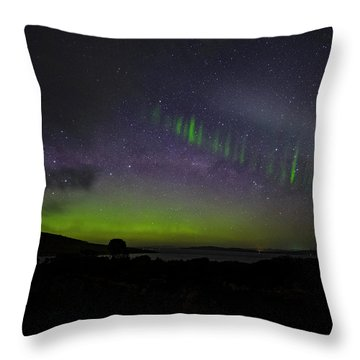 Picket Fences Throw Pillow