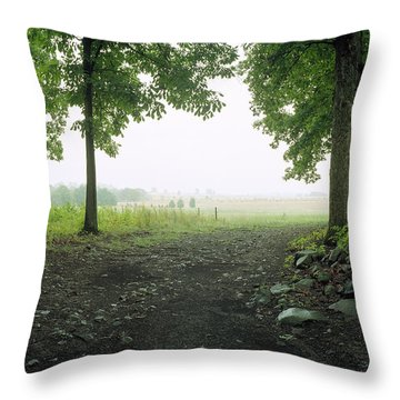 Pickett's Charge Throw Pillow