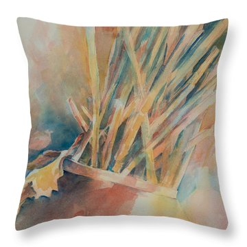 Pickup Sticks Throw Pillow