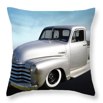 Throw Pillow featuring the photograph Pickup Truck by Keith Hawley