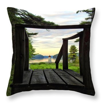 Picture Perfect Throw Pillow