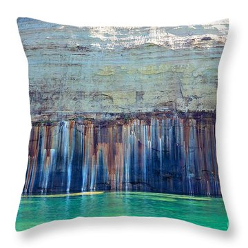 Picture Rock Two Throw Pillow