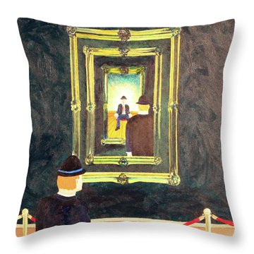 Pictures At An Exhibition Throw Pillow by Thomas Blood