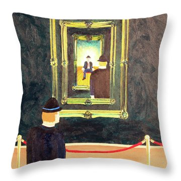 Pictures At An Exhibition Throw Pillow