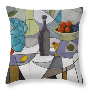 Pieces Of A Dream Throw Pillow