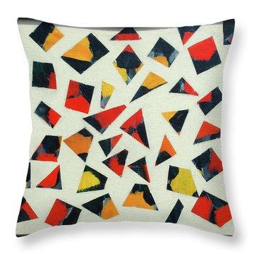 Pieces Of Art Throw Pillow
