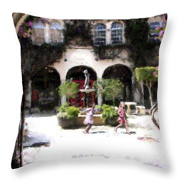 Pied Piper Two Throw Pillow