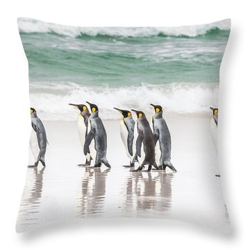 Pied Piper. Throw Pillow