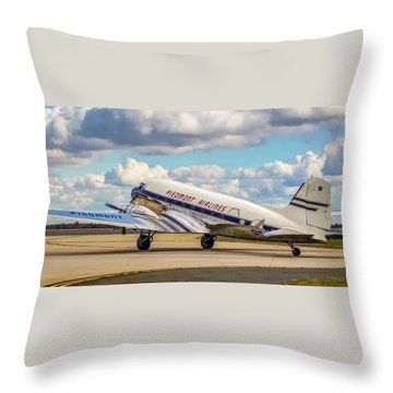 Piedmont Dc-3 Throw Pillow