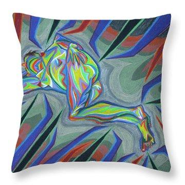 Piegee Throw Pillow by Robert SORENSEN