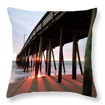 Pier Sunburst Throw Pillow