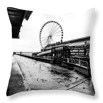 Pierspective  Throw Pillow