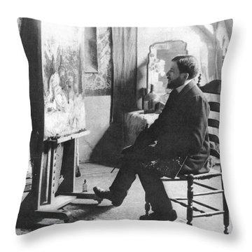 Piet Mondrian (1872-1944) Throw Pillow by Granger