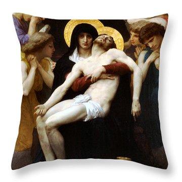 Pieta 1876 Throw Pillow