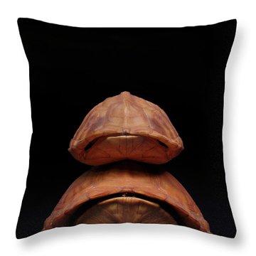 Piggyback Ride Throw Pillow by Adam Long