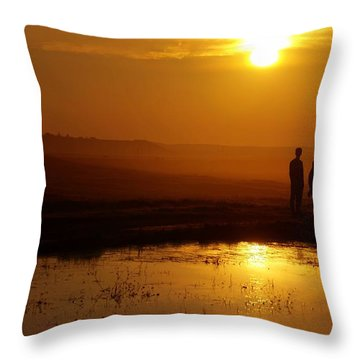 Pigs On The Wing Throw Pillow