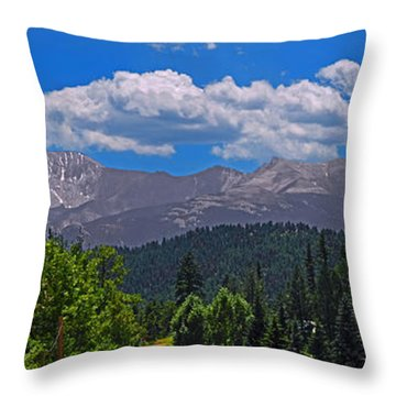 Pike's Panoramic Throw Pillow