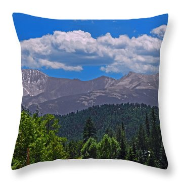 Pikes Panoramic Center Segment Throw Pillow