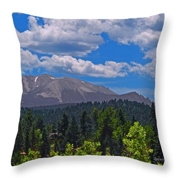 Pikes Panoramic Right Segment Throw Pillow