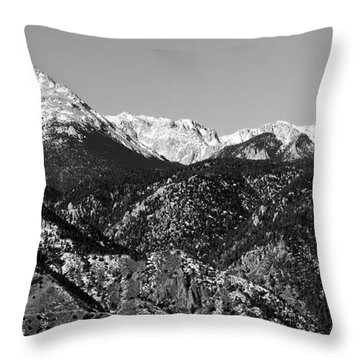 Pikes Peak And Incline 36 By 18 Throw Pillow