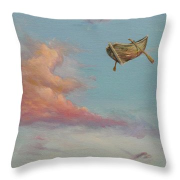 Pilgrim Soul Throw Pillow